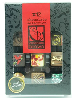 Praline: Chocolate Selection 12 Box