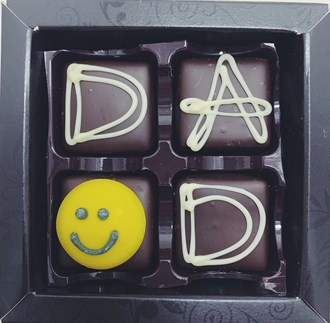 Dad: Caramel Dad DARK 53% 4 Box