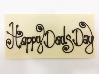 Dad: Tablet Happy Dad's Day 28% WHITE Bag