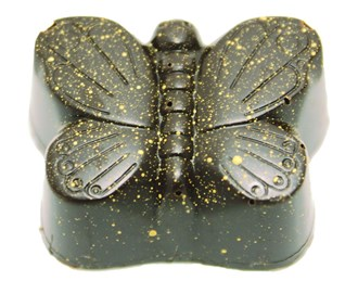 Praline: Butterfly 53% DARK each loose