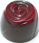 Praline: Red Velvet Rose 53% DARK each loose