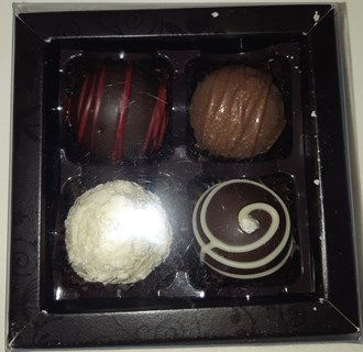 Truffles: Truffle Selection Box of 4
