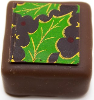 Xmas: Holly Caramel 34% MILK loose