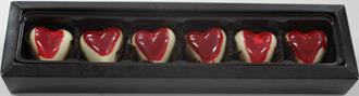 Love: Baby Hearts Raspberry 28% WHITE 6 Box