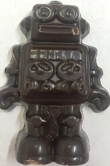 Novelty: Robot Caramel 53% DARK each loose