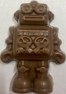 Novelty: Robot Caramel 34% MILK each loose