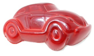 Novelty: VW Car Caramel Red 28% each loose